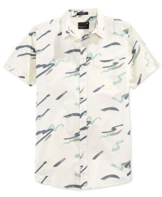 Tavik Men's Porter Abstract-Print Short-Sleeve Shirt