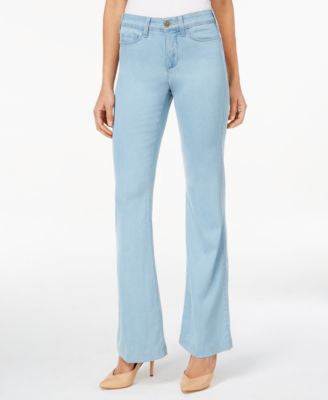 NYDJ Petite Claire Chambray Coral Springs Wash Trouser Jeans