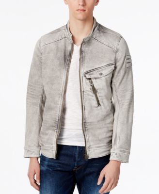 GStar Men's Raw Denim Moto Jacket