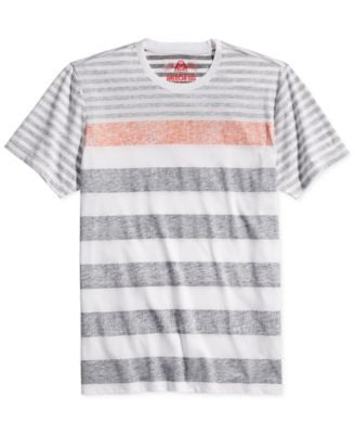 American Rag Men's Color Stripe T-Shirt, Only at Vogily