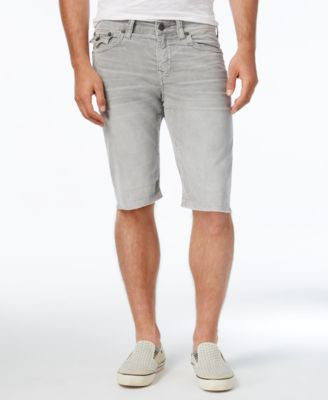 True Religion Men's Ricky Relaxed-Fit Jean Shorts
