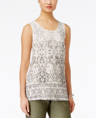 INC International Concepts Lace Top, Only at Vogily