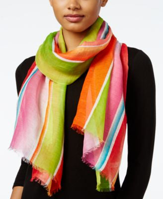 Lauren Ralph Lauren Yolanda Striped Oblong Scarf