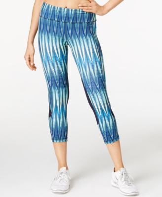 Karen Kane Life Printed Cropped Active Pants