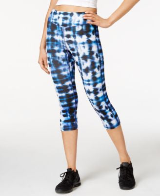 Karen Kane Life Tie-Dyed Cropped Active Pants
