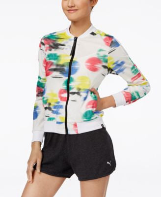 Puma Printed Zip Jacket