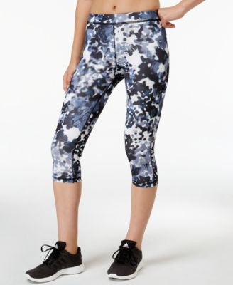 adidas TechFit Floral Printed Capri Leggings
