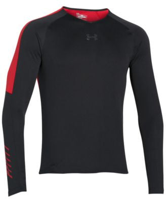 Under Armour Men's Colorblocked Long-Sleeve Performance Shirt