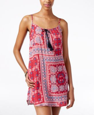 American Rag Printed Slip Dress, Only at Vogily