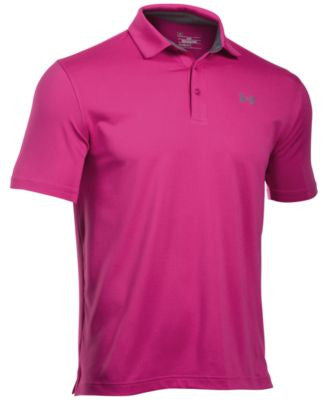 Under Armour Men's Power in Pink® Playoff Polo