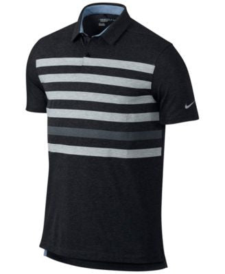Nike Men's TR Dry Stripe Golf Polo