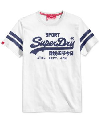 Superdry Men's Vintage Sport Graphic-Print Logo T-Shirt