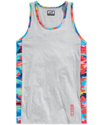Neff Men's Printed Trim Tank