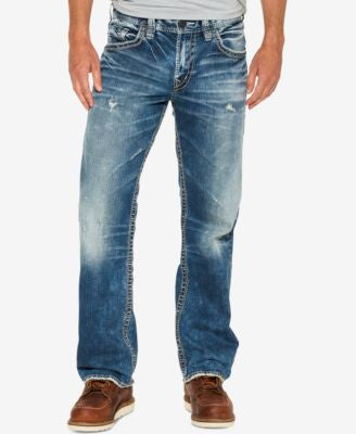 Silver Jeans Co. Men's Gordie Loose-Fit Jeans