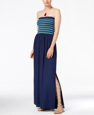 RACHEL Rachel Roy Strapless Maxi Dress