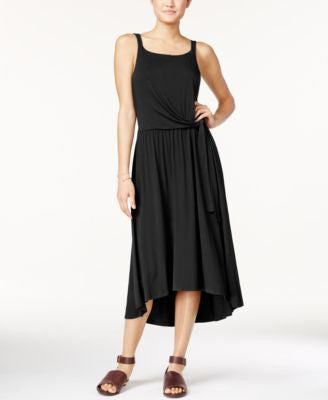 Maison Jules Tie-Front Midi Dress, Only at Vogily
