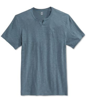 INC International Concepts Men's Mini Split T-Shirt, Only at Vogily