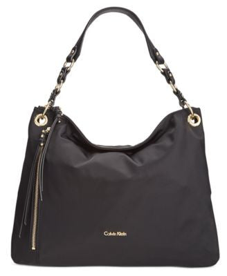 Calvin Klein Large Nylon Hobo