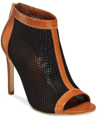 Cole Haan Adella Peep-Toe Dress Booties