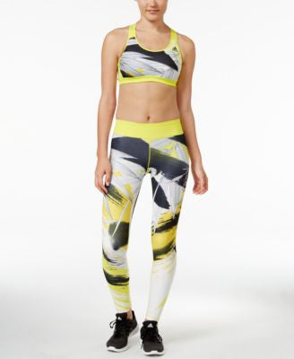 adidas Racerback Sports Bra & Printed Leggings