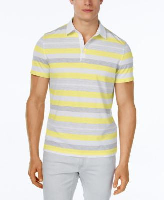 Alfani Men's Keen Stripe Polo, Classic Fit