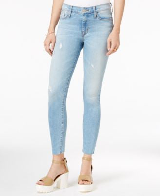 Hudson Jeans Nico Ripped Skinny Jeans, Hatchback Wash
