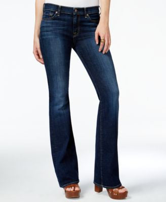 7 For All Mankind Tailorless Bootcut Jeans, Nouveau NY Dark wash