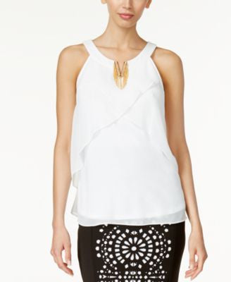 Thalia Sodi Embellished Halter Top, Only at Vogily