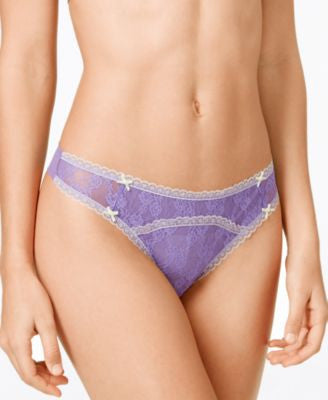Heidi Klum Intimates Mon Coeur Lace Thong Brief H37-1190