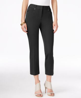Alfani Petite Slim-Leg Capri Pants, Only at Vogily