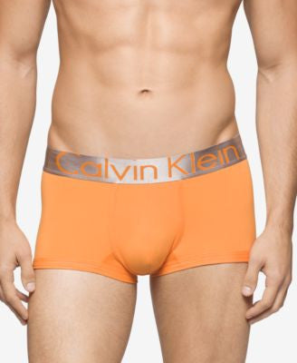 Calvin Klein Men's Underwear, Steel Micro Low Rise Trunk U2716