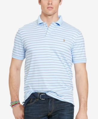 Polo Ralph Lauren Big & Tall Men's Striped Pima Soft-Touch Polo Shirt