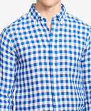Polo Ralph Lauren Big & Tall Men's Long-Sleeve Gingham Linen Shirt