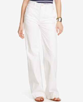 Denim & Supply Ralph Lauren High-Rise Wide-Leg Sailor Pants