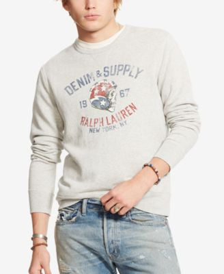 Denim & Supply Ralph Lauren Men's French Terry Sweatshirt