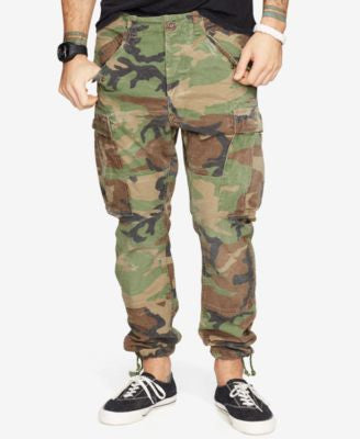Denim & Supply Ralph Lauren Men's Dropped Cargo Pants