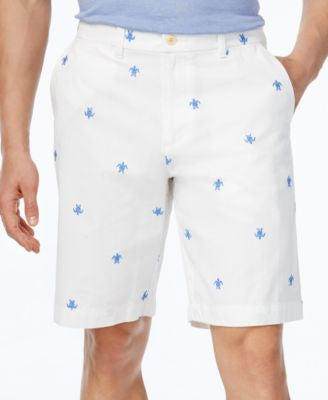 Tommy Hilfiger Men's Sea Turtle Print Shorts