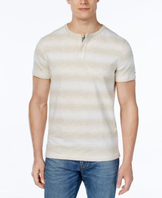 Tommy Hilfiger Men's Micah Striped Henley