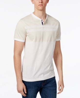 Tommy Hilfiger Men's Carter Colorblocked Striped Henley