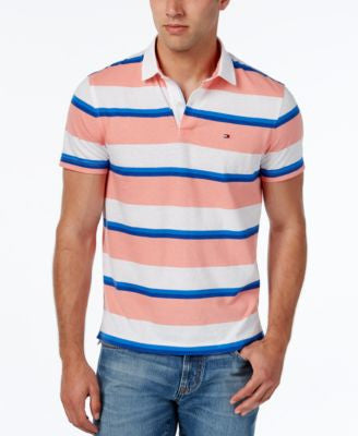 Tommy Hilfiger Men's Flynn Striped Polo