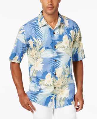 Tommy Bahama Men's Island Luau Silk Short-Sleeve Shirt, A Vogily Exclusive Style