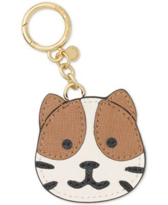 MICHAEL Michael Kors Fancy Feline Leather Bag Charm