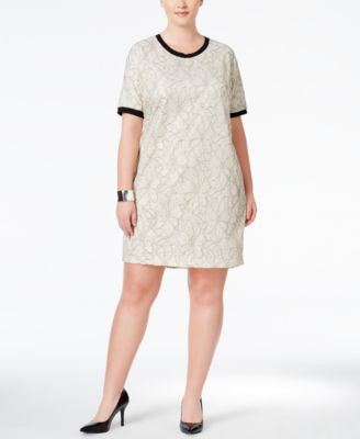 Junarose Plus Size Floral-Print T-Shirt Dress