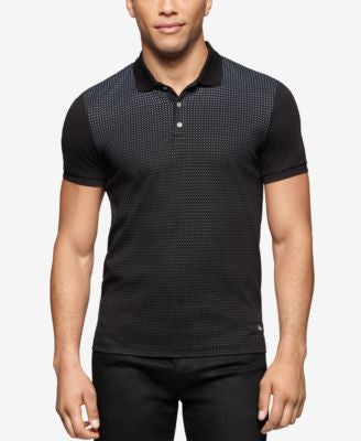 Calvin Klein Men's Colorblocked Liquid Cotton™ Polo