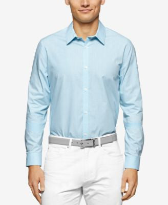 Calvin Klein Cool Tech Mini-Check Shirt