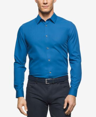 Calvin Klein Men's Long Sleeve Cool Tech Shirt