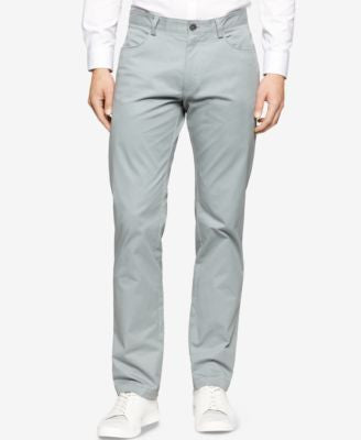Calvin Klein Sateen Slim-Fit Pants