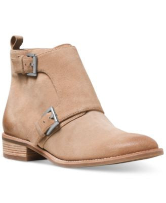 MICHAEL Michael Kors Adams Buckle Detail Ankle Booties