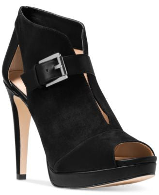 MICHAEL Michael Kors Isabella Open-Toe Booties
