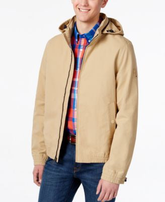 Tommy Hilfiger Men's Rock House Hooded Jacket